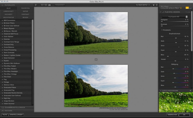 Color Efex Pro 4 Film Efex Modern