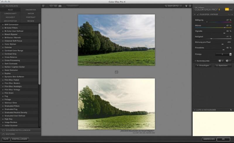 Color Efex Pro 4 Film Efex Vintage