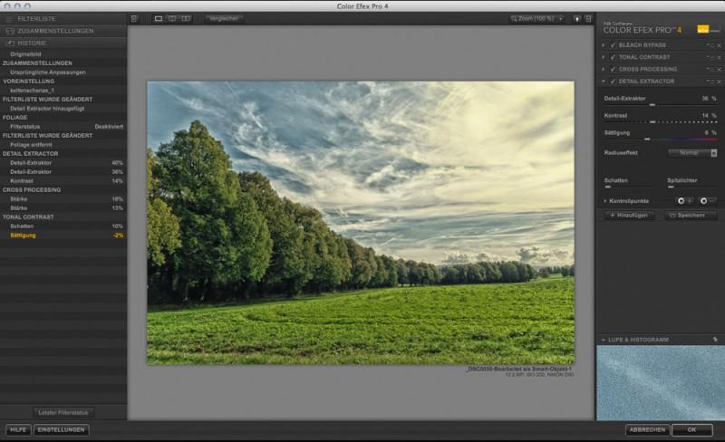 Color Efex Pro 4 Protokoll