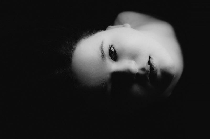 Schwarzweiß-Portrait