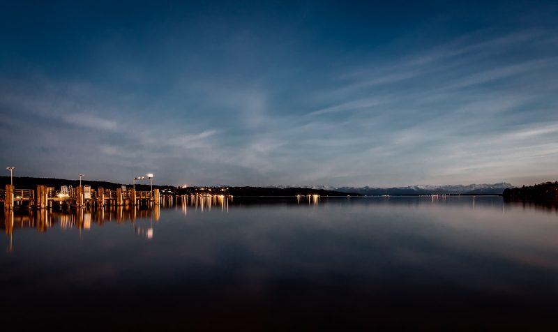 Goldene Stunde am Starnberger See