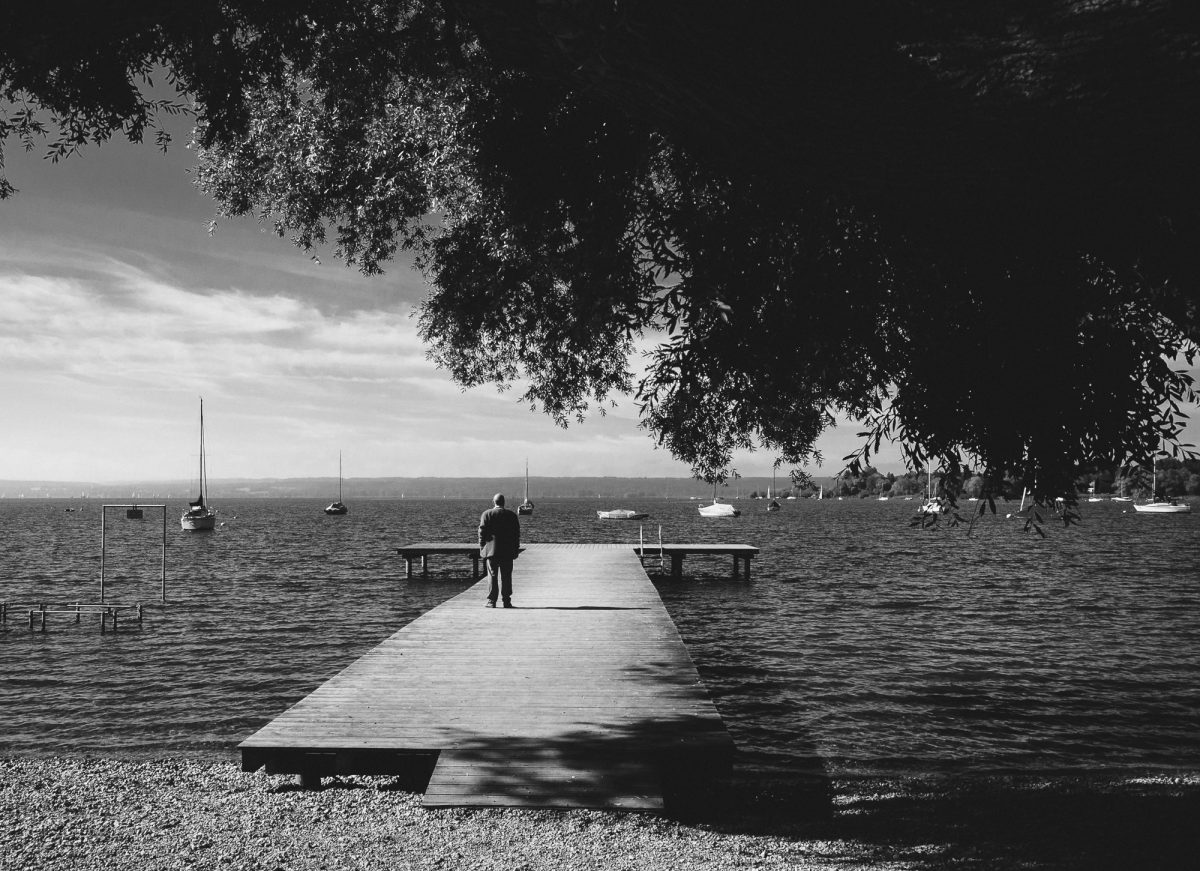 Streetfotografie am Ammersee im Sommer