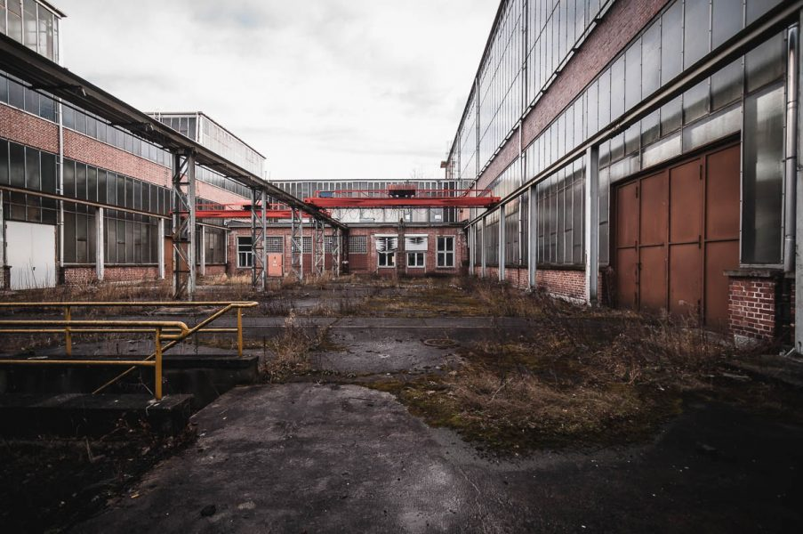 Ausbesserungswerk im Norden München