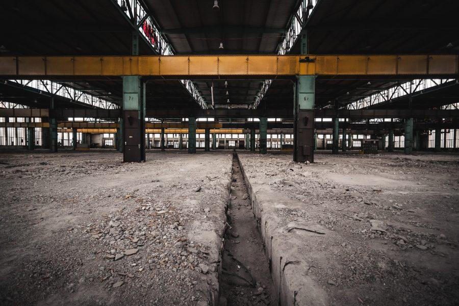 Lost Place Ausbesserungswerk