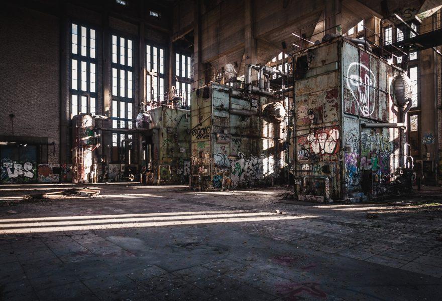 Lost Place Heizkraftwerk