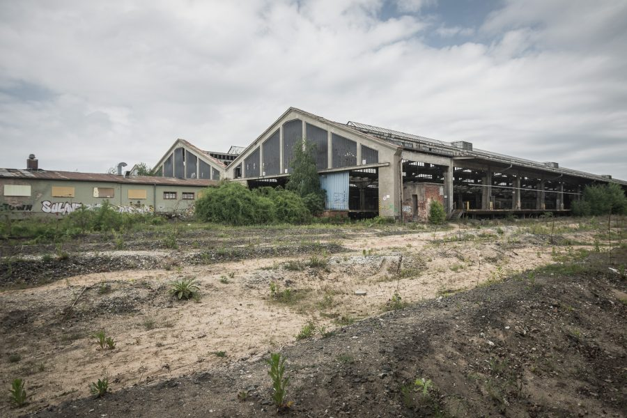 Urban Exploration Güterbahnhof Franken