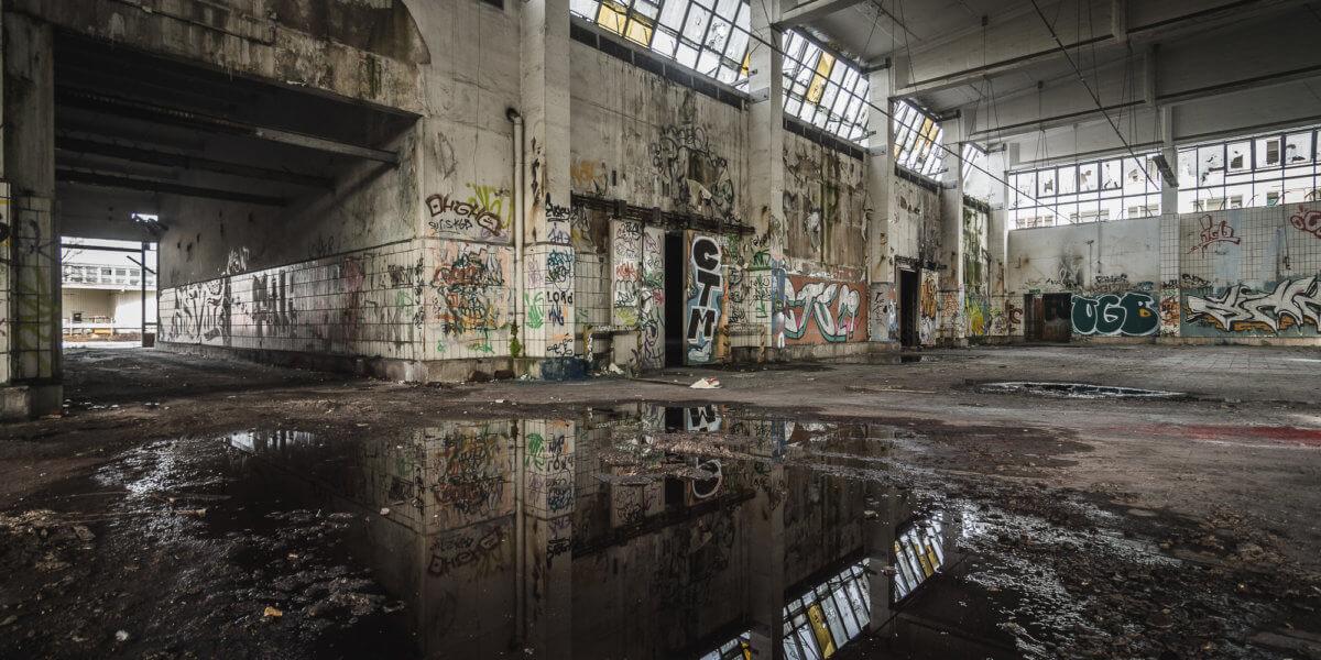 Lost Place Milchwerke Dresden
