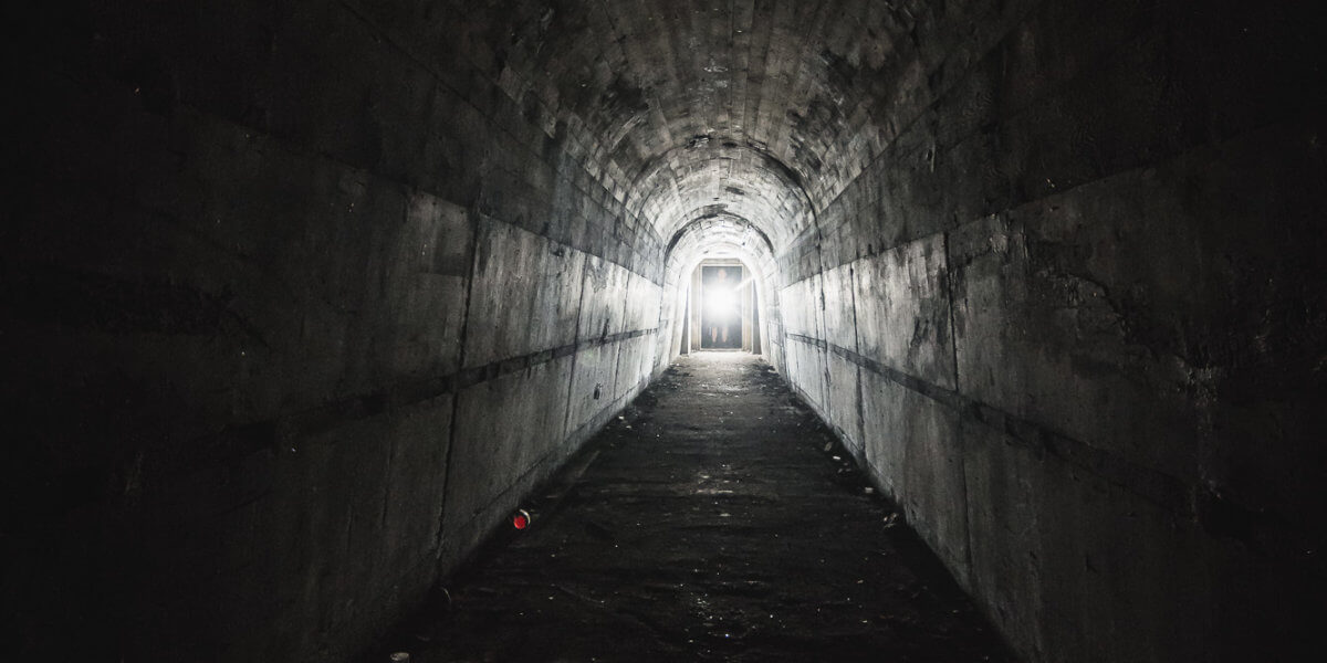 Bunkertunnel Lost Place