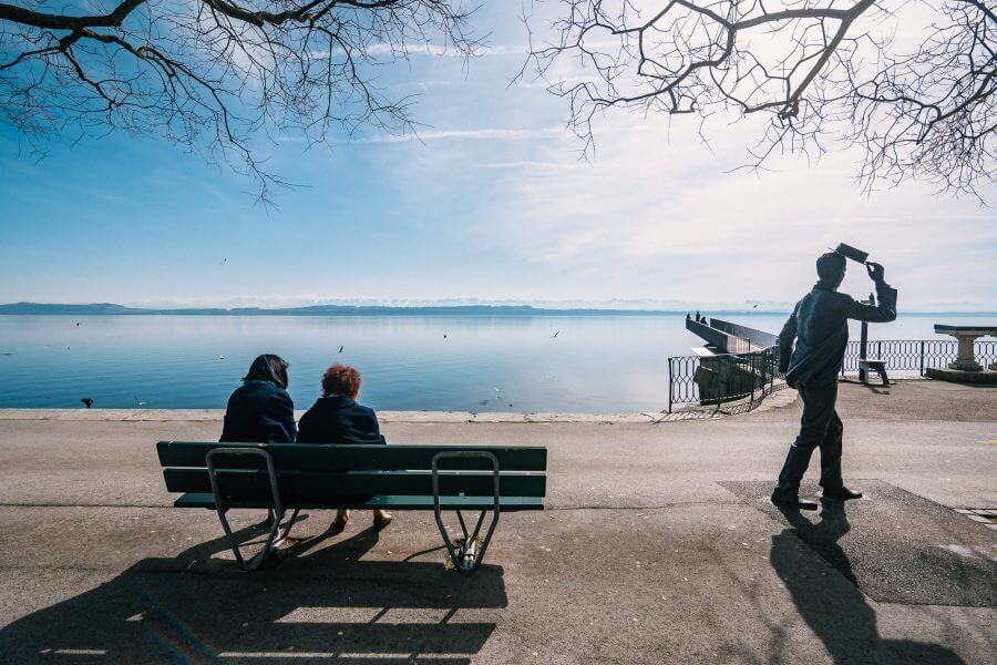 Lac du Neuchatel (Neuenburger See)